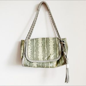 "brand new aimee kestenberg ""snake"" shoulder bag"